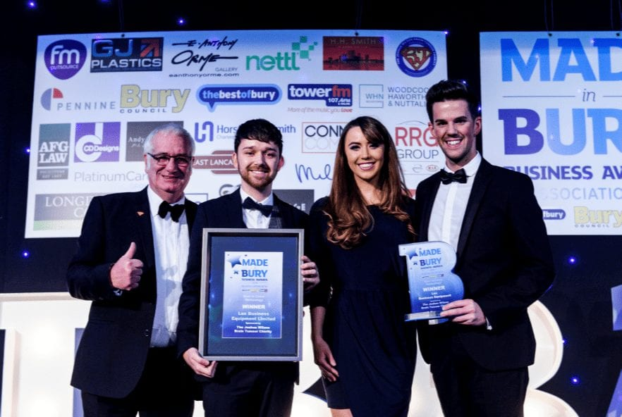 Bury-based firm scoop top technology award